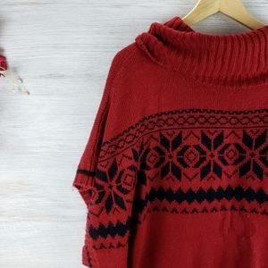 Woman Within Cowl Neck Sweater